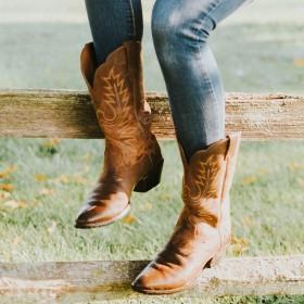 Naisten Cowboy Saappaat
