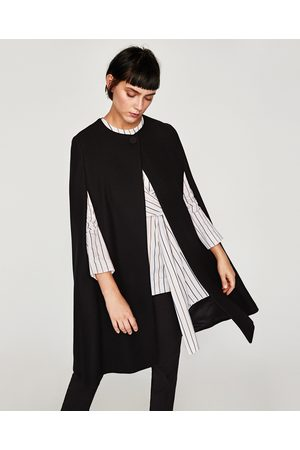 Zara LONG CLOTH CAPE - Available in more colours