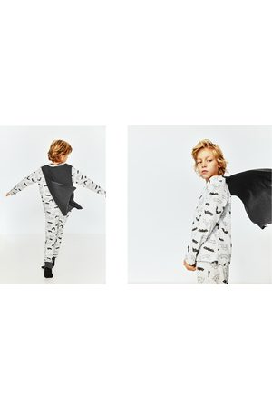 Zara BAT PRINT PYJAMAS WITH CAPE
