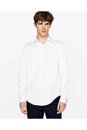 Zara SHIRT WITH STRETCH AND CUFF LINKS - Available in more colours