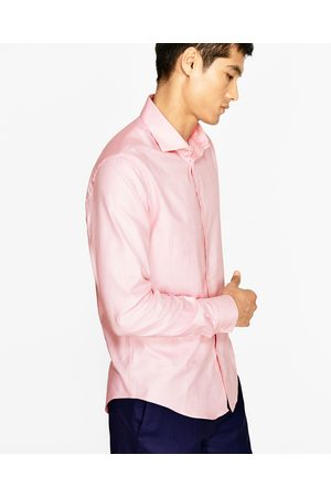 Zara ROYAL OXFORD SHIRT WITH SPREAD COLLAR