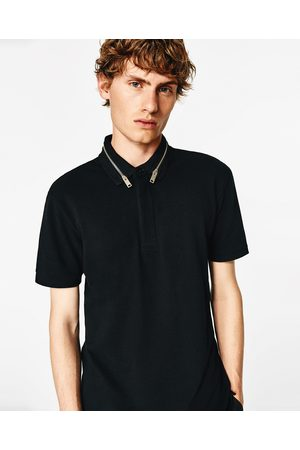 Zara POLO SHIRT WITH ZIP - Available in more colours