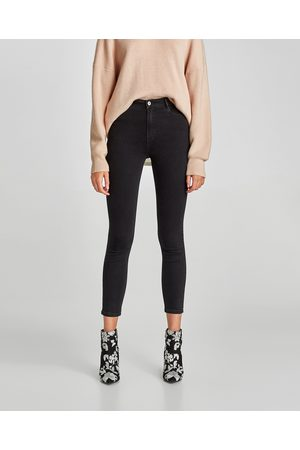 Zara HIGH-RISE SKINNY FIT JEANS - Available in more colours