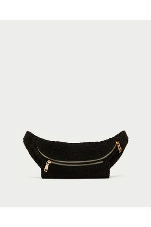 Zara FAUX FUR BELT BAG