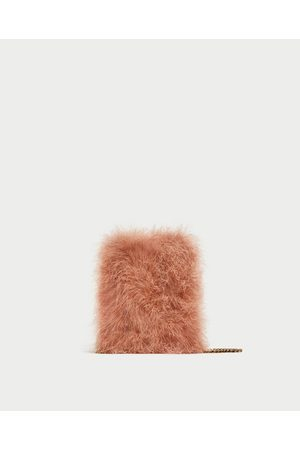 Zara FEATHER CROSSBODY BAG - Available in more colours