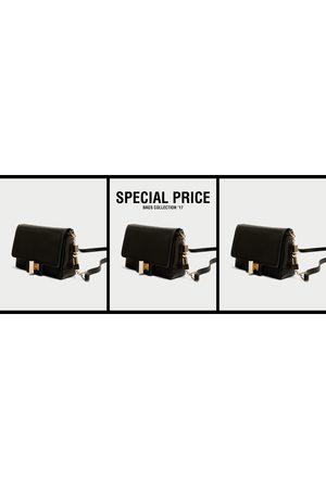 Zara CROSSBODY BAG WITH STRAP DETAIL