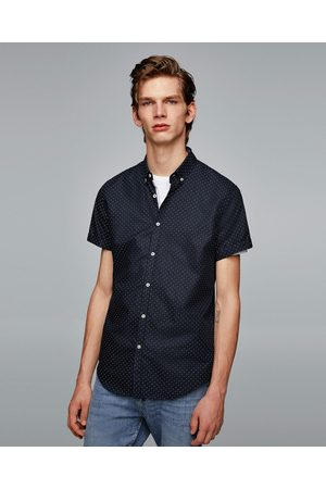 Zara POLKA DOT OXFORD SHIRT - Available in more colours