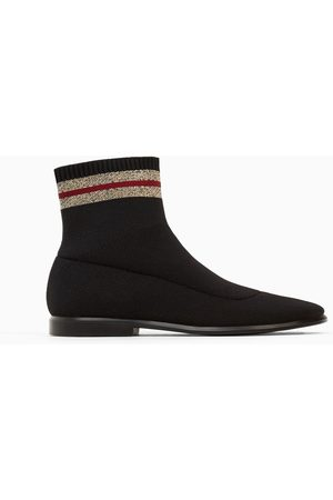Zara SOCK-STYLE ANKLE BOOT - Available in more colours