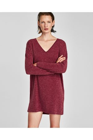 Zara LONG SLEEVE KNIT DRESS - Available in more colours
