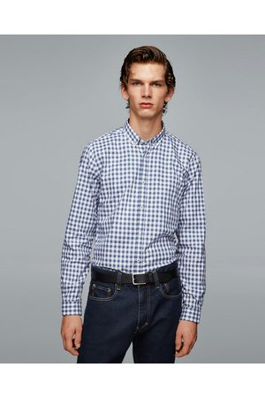 Zara GINGHAM MELANGE SHIRT - Available in more colours