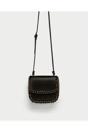 Zara CROSSBODY BAG WITH CHAIN DETAIL