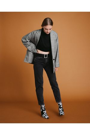 Zara HIGH-RISE MOM FIT JEANS - Available in more colours