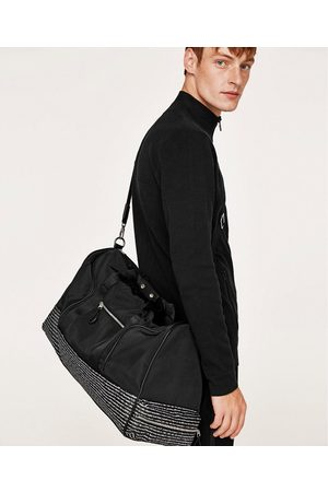 Zara BOWLING BAG WITH SLOGAN