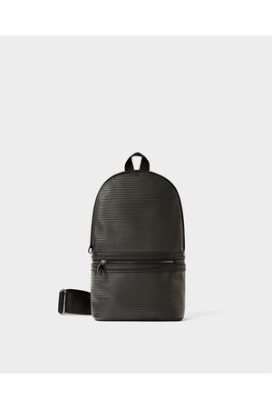 Zara SMART EMBOSSED CROSSBODY BAG