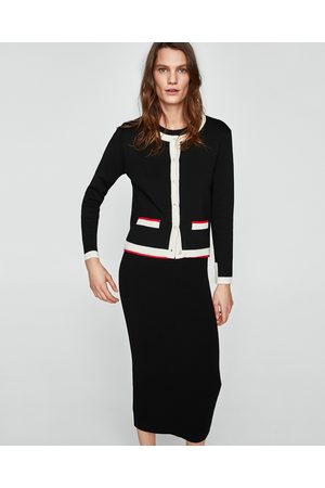 Zara PENCIL SKIRT WITH SIDE STRIPE DETAIL - Available in more colours