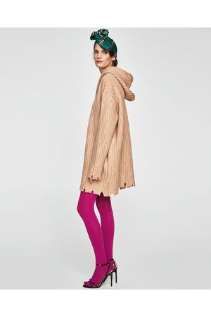 Zara KNIT DRESS WITH HOOD - Available in more colours