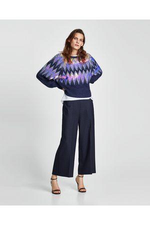 Zara JACQUARD CULOTTES