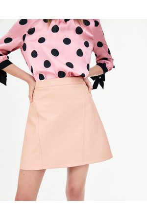 Zara FAUX LEATHER SKIRT - Available in more colours