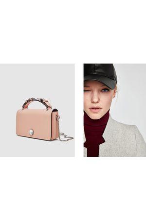 Zara CROSSBODY BAG WITH GEM DETAIL