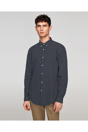 Zara OXFORD SHIRT WITH ELBOW PATCHES - Available in more colours
