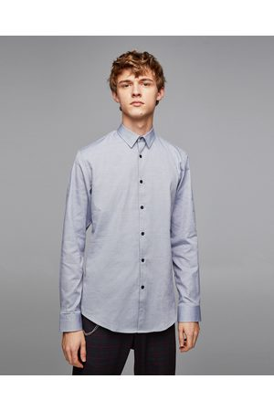 Zara Miehet Bisnes - TEXTURED-WEAVE OXFORD SHIRT - Available in more colours
