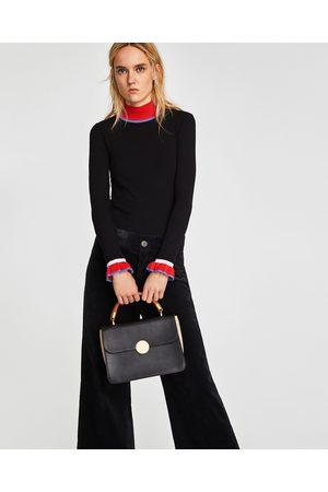 Zara CROSSBODY BAG WITH HANDLE