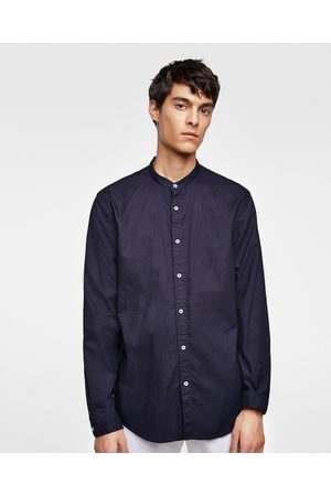 Zara Miehet Bisnes - OXFORD SHIRT WITH MANDARIN COLLAR - Available in more colours