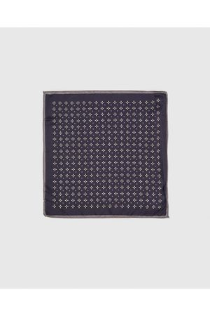 Zara PRINTED POCKET SQUARE WITH TRIM
