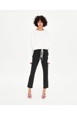 Zara HI-RISE STRAIGHT LEG MOM JEANS - Available in more colours