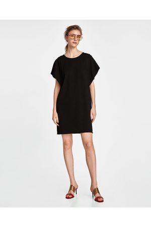 Zara DRESS WITH CAPE SLEEVES
