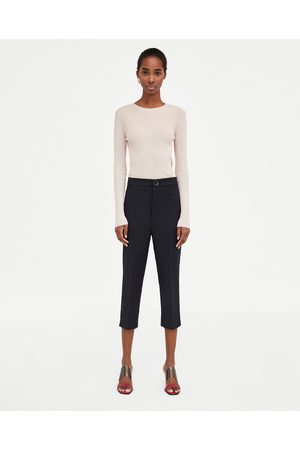 Zara CAPRI TROUSERS