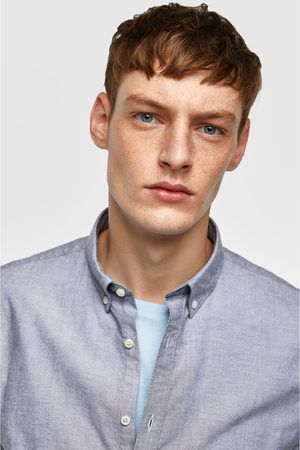 Zara PLAIN OXFORD SHIRT