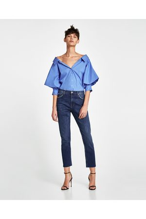 Zara JEANS VINTAGE HIGH WAIST SUNSET