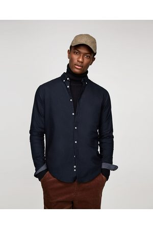 Zara Miehet Bisnes - PLAIN OXFORD SHIRT - Available in more colours