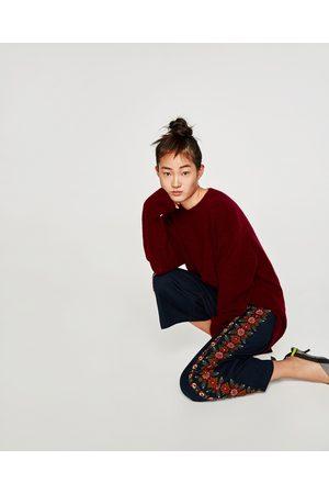 Zara EMBROIDERED CULOTTES