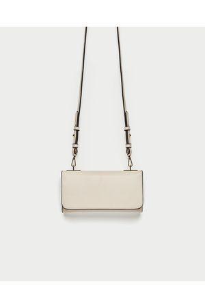 Zara CROSSBODY WALLET BAG WITH METAL DETAIL