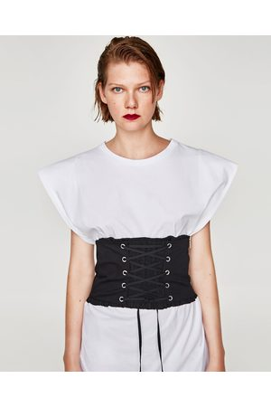 Zara CORSET WITH CORD AND ELASTIC
