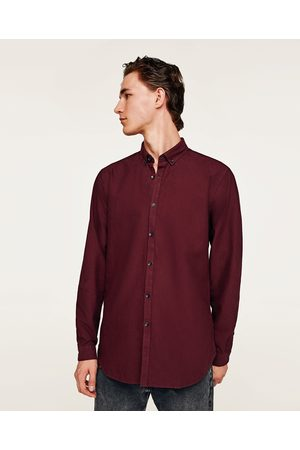Zara CONTRASTING OXFORD SHIRT - Available in more colours