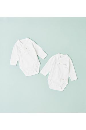 Zara 2-PACK OF BEAR CUB KIMONO BODYSUITS - Available in more colours