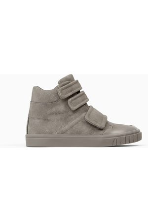 Zara BLOCK COLOUR HIGH-TOP SNEAKERS