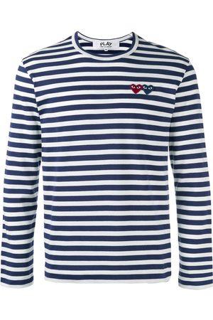 Comme des Garçons Miehet T-paidat - Breton stripe T-shirt
