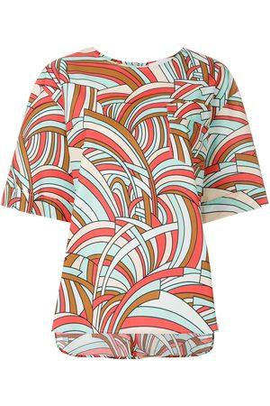 La DoubleJ Naiset T-paidat - Onde boxy T-shirt