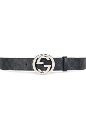 Gucci Miehet Vyöt - GG Supreme belt with G buckle