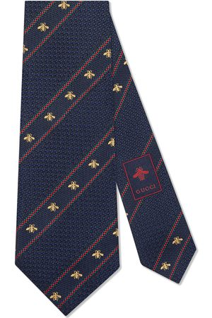 Gucci Miehet Solmiot - Bee Web silk tie