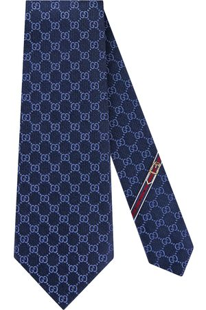 Gucci GG pattern silk tie