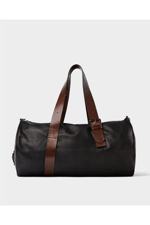 Zara SOFT LEATHER BOWLING BAG