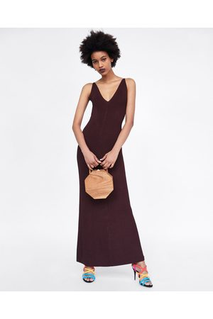 Zara LONG KNIT DRESS