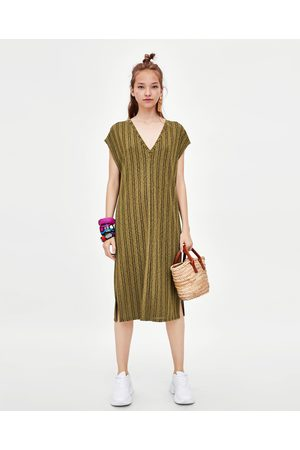 Zara RUSTIC TUNIC DRESS
