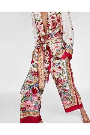 Zara PRINTED CULOTTES