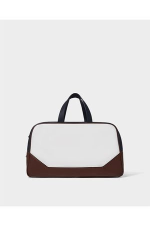 Zara THREE-TONE BOWLING BAG